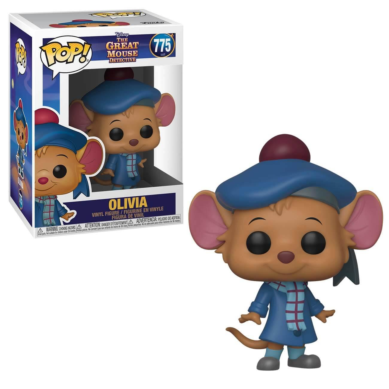 POP! DISNEY #??? PVC THE GREAT MOUSE DETECTIVE OLIVIA