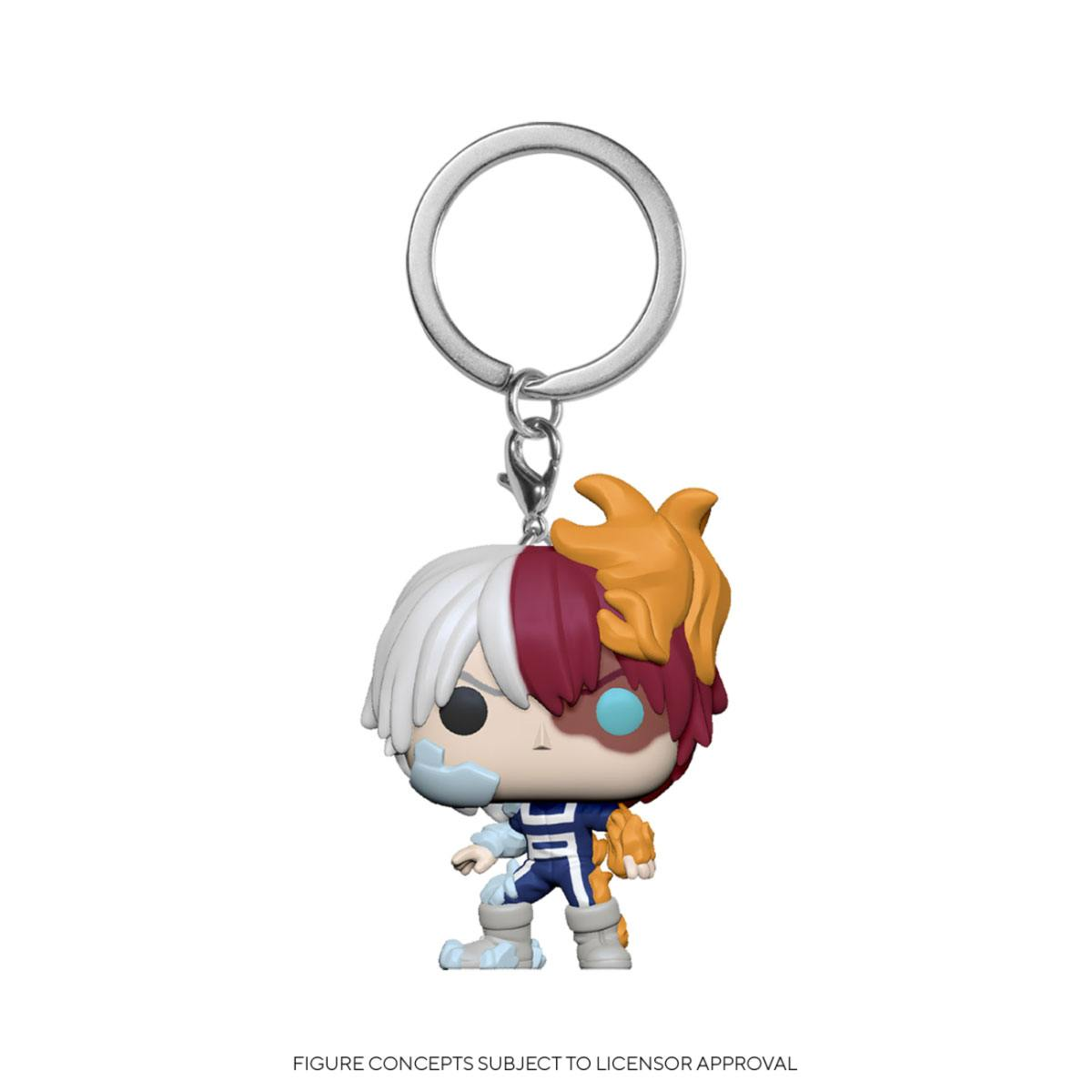 POCKET POP! KEYCHAIN MY HERO ACADEMIA TODOROKI