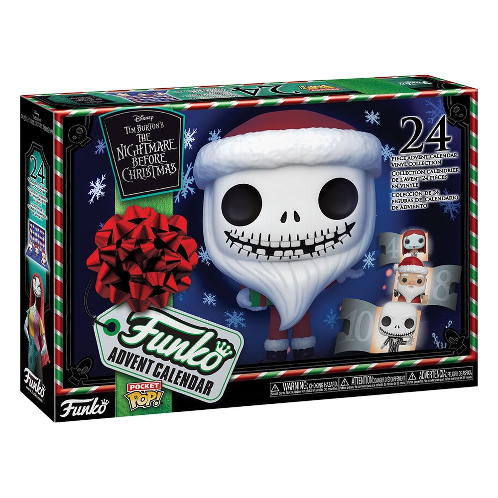NIGHTMARE BEFORE CHRISTMAS POCKET POP! ADVENT CALENDAR 2020