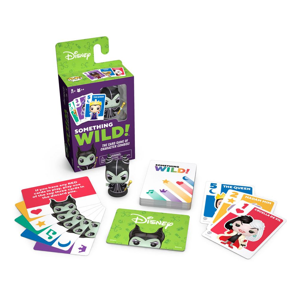 DISNEY VILLAINS CARD GAME SOMETHING WILD!