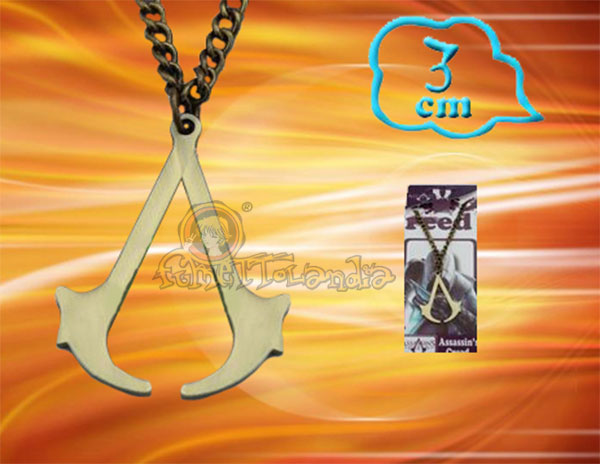 ASSASSINS CREED GAME ALLOY NECKLACE 33334