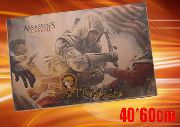 ASSASSIN'S CREED GAME RETRO KRAFT POSTER 87580