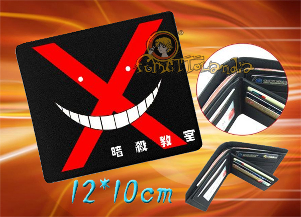 ASSASSINATION CLASSROOM ANIME LEATHER WALLET 73018