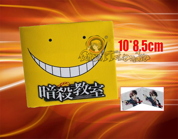 ASSASSINATION CLASSROOM ANIME COTTON BLEND WALLET 85105