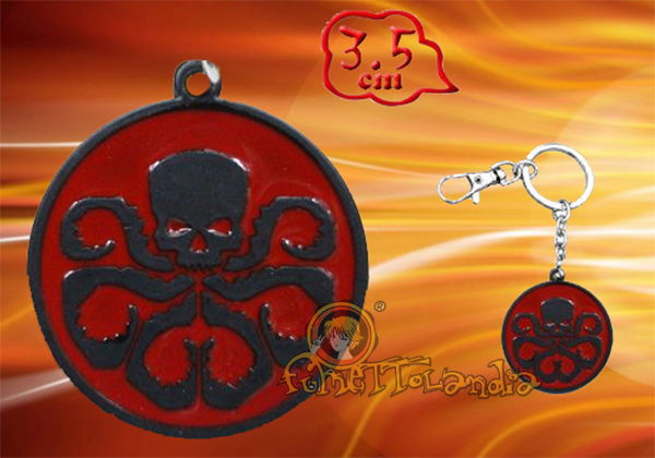 AGENTS OF SHIELD ALLOY KEYCHAIN 97131