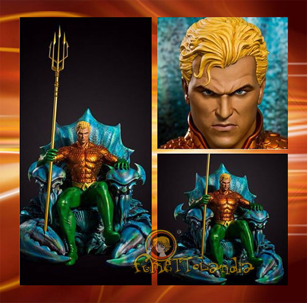 AQUAMAN ON THRONE 1/3 STATUE