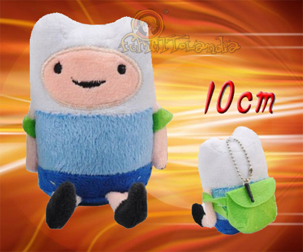 ADVENTURE TIME ANIME FINN PLUSH DOLL KEYCHAIN 105349