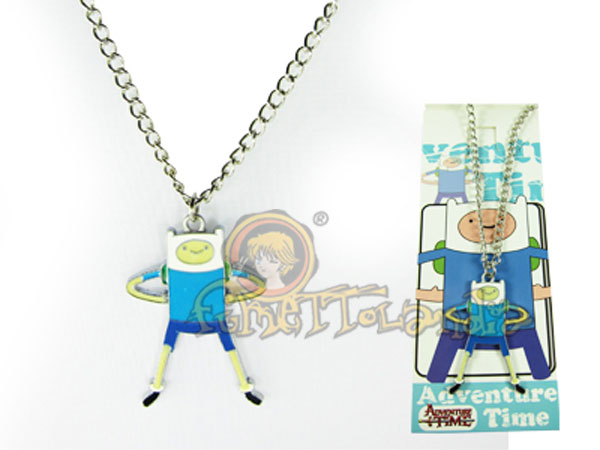 ADVENTURE TIME FINN GAME NECKLACE 25055
