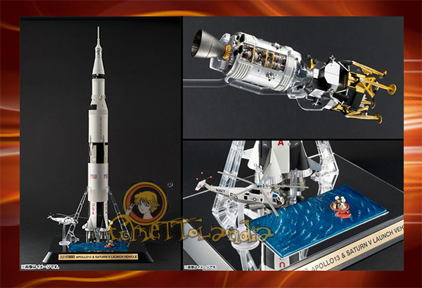 SOUL OF CHOGOKIN APOLLO 13 & SATURN V LAUNCH VEHICLE