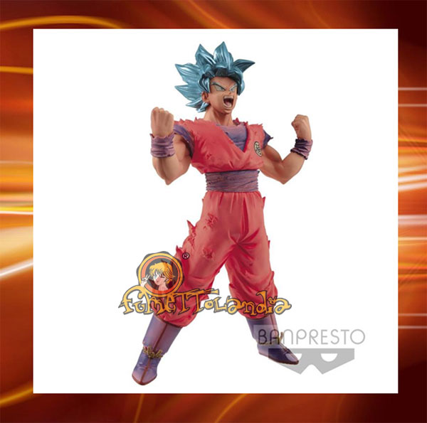 BLOOD OF SAYANS - DRAGON BALL SUPER - SUPER SAYAN BLUE GOKU