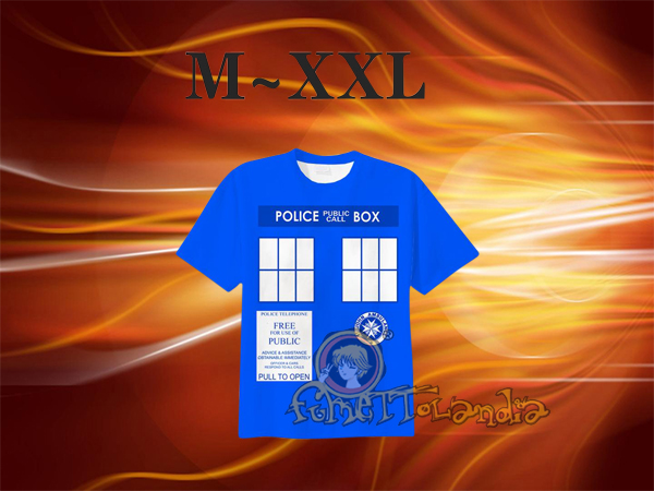 DOCTOR WHO SHORT SLEEVES T-SHIRT (L) 142560