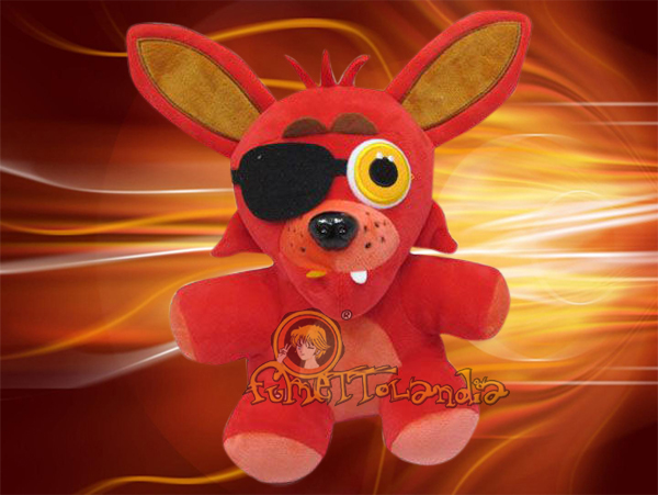 FIVE NIGHTS AT FREDDY'S FOXY GAME PLUSH DOLL 123510