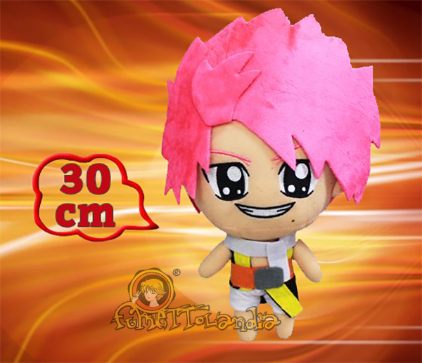 FAIRY TAIL ANIME NATSU DRAGNEEL PLUSH DOLL 98818