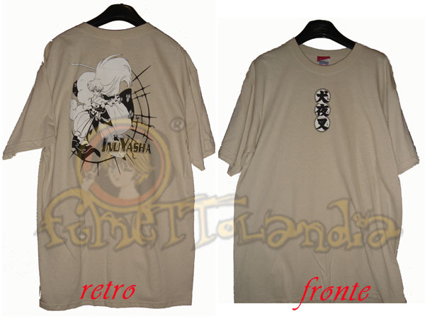 INU YASHA COMING AT YOU T-SHIRT (M)