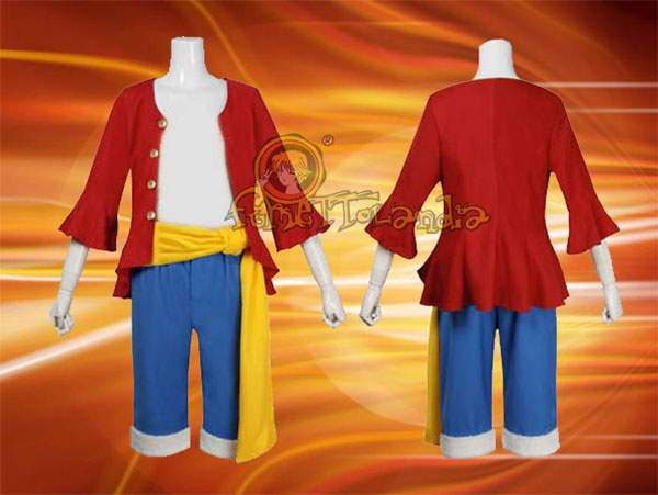 COSPLAY ONE PIECE: LUFFY COSTUME