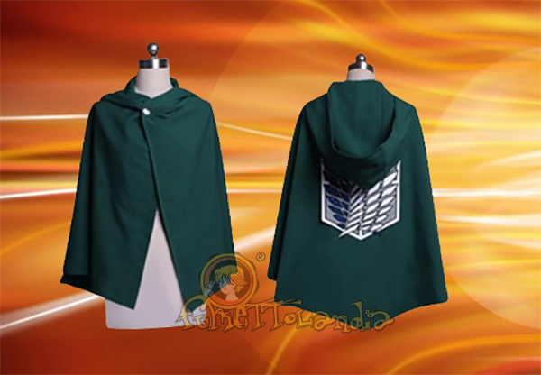 ATTACK ON TITAN ANIME CLOAK COSTUME COSPLAY (M) 20531