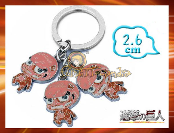 ATTACK ON TITAN KEYCHAIN 39667
