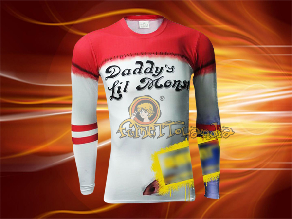 SUICIDE SQUAD MOVIE LONG SLEEVES T-SHIRT (L) 137293