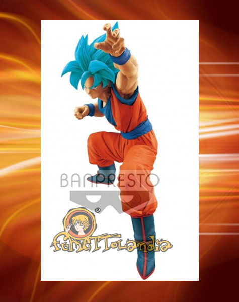 DRAGONBALL: SUPER SAYAN GOD - SUPER SAYAN GOKU - BIG SIZE FIGURE